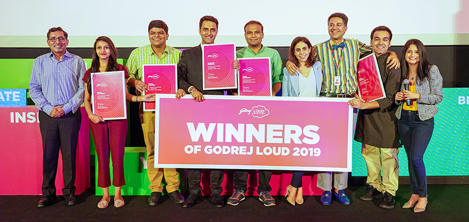 Congrats to our Godrej LOUD 2019 winners!