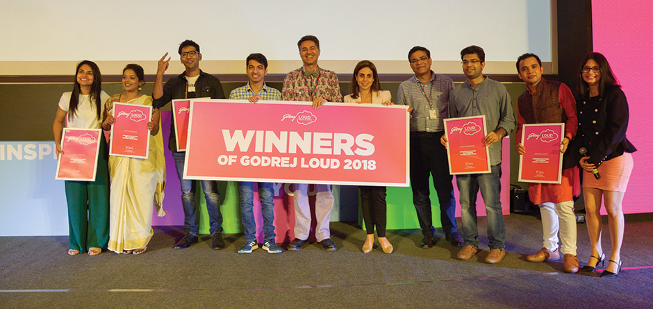Meet our Godrej LOUD 2018 winners